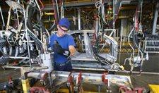 Sanayi üretimi yüzde 1 arttı